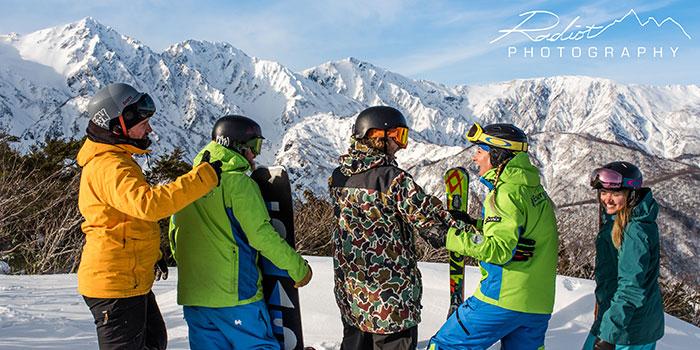 group ski lessons in japan