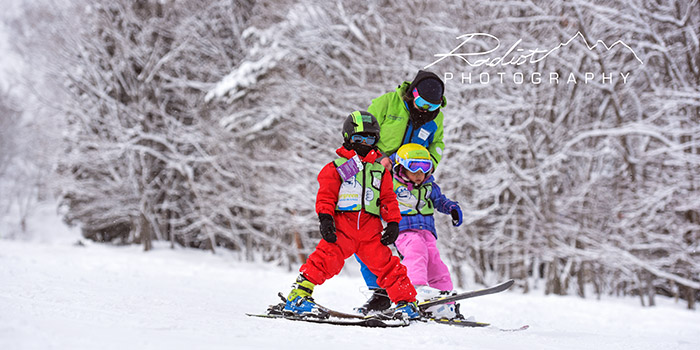 yeti club hakuba kids ski lessons