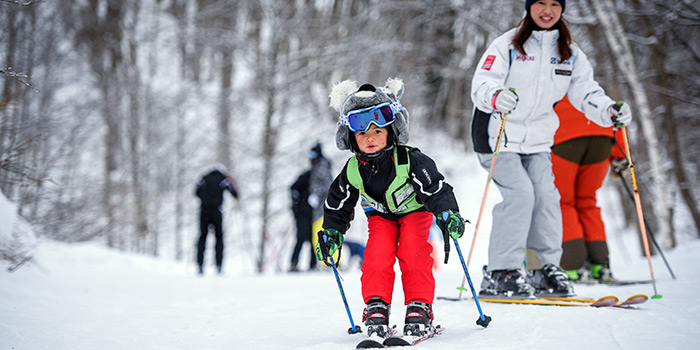 hakuba ski lessons for children