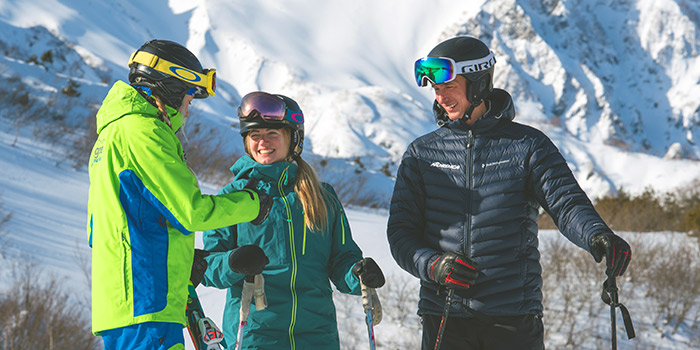 group ski lessons home page image