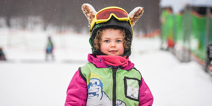 ski lessons for children in hakuba