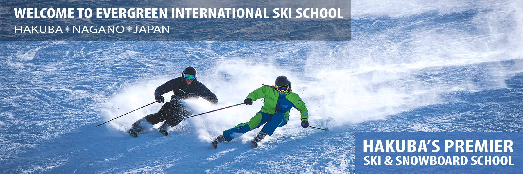 japan ski school header - private ski lessons