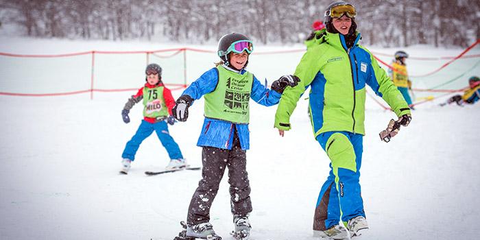 ski lessons for children in hakuba japan