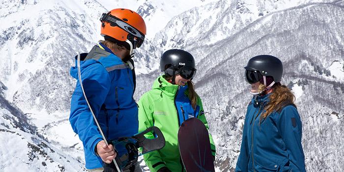 snowboard lessons in tsugaike
