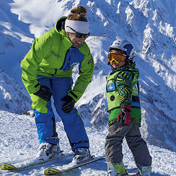 hakuba private ski lessons on happo