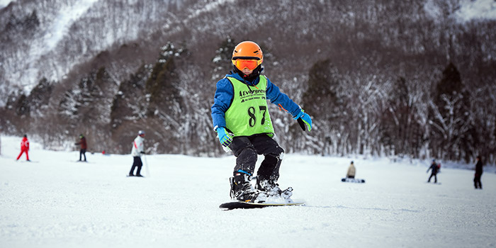 japan snowboard lessons for children