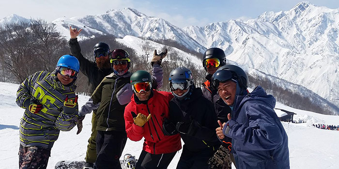 snowboard lessons japan